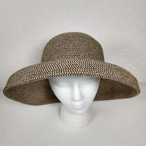 Betmar NY 2-way dome brim straw summer sun hat